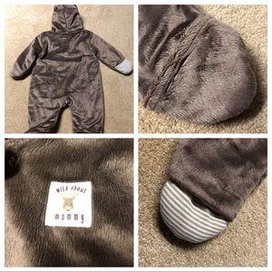 da7b1b654 Carter's Other | Cozy Snowsuit Moose Fleece Size 9mo | Poshmark